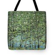 Lilly Pond Tote Bag by John Greim