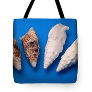 Lime Made From Seashells Tote Bag by Ted Kinsman