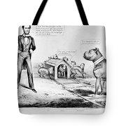 Lincoln: Cartoon, 1864 Tote Bag