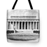 Lincoln Memorial Tote Bag