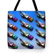 Line Truckin Tote Bag