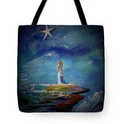 Little Wishes By The Sea Tote Bag