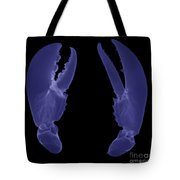 Lobster Claws X-ray Tote Bag