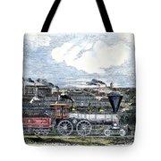 Locomotive Factory, C1855 Tote Bag