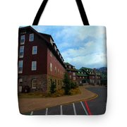 Lodge On The Crater Tote Bag