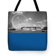 London Eye And County Hall Tote Bag