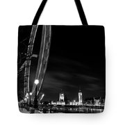 London Eye And London View Tote Bag