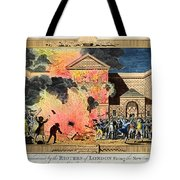 London: Gordon Riots, 1780 Tote Bag