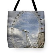 London Skyline Edf Eye  Tote Bag