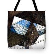London Southbank Abstract Tote Bag