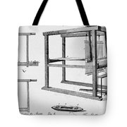 Loom: Fly Shuttle, 1733 Tote Bag