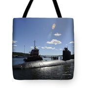 Los Angeles-class Submarine Uss Tote Bag
