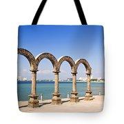 Los Arcos Amphitheater In Puerto Vallarta Tote Bag