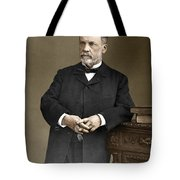 Louis Pasteur, French Chemist Tote Bag by Omikron