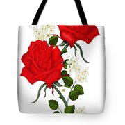 Love Is Like A Red Red Rose Tote Bag