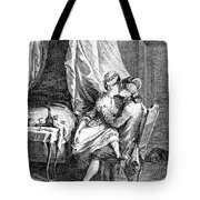Lovers, 18th Century Tote Bag