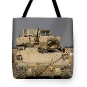 M2m3 Bradley Fighting Vehicle Tote Bag