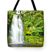 Mac Lean Falls In The Catlins Tote Bag