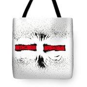 Magnetic Repulsion Tote Bag