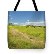Maine Blueberry Field In Summer Tote Bag