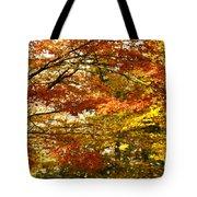 Maple Tree Foliage Tote Bag
