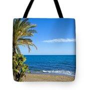 Marbella Beach In Spain Tote Bag
