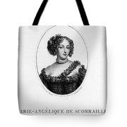 Marie-ang�lique De Rousille Tote Bag