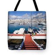 Marina In Puerto Banus Tote Bag