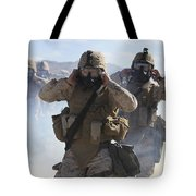 Marines And Sailors Participate In An Tote Bag
