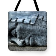 Maritime Memorial Cardiff Bay Tote Bag