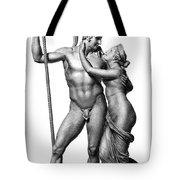 Mars And Venus Tote Bag