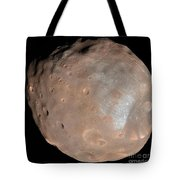 Mars Moon Phobos Tote Bag