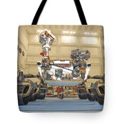 Mars Science Laboratory Rover Tote Bag