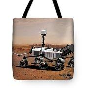 Mars Science Laboratory Tote Bag