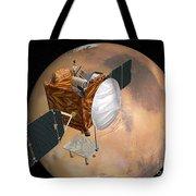 Mars Telecommunications Orbiter Tote Bag