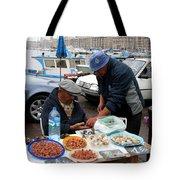 Marseilles Fishermen Tote Bag