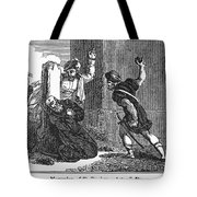 Martyrdom Of St. Stephen Tote Bag