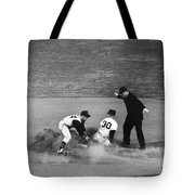Maury Wills (1932- ) Tote Bag by Granger
