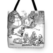 Mckinley Cartoon, 1900 Tote Bag
