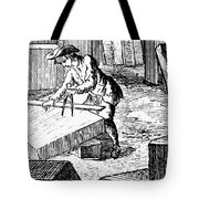 Measuring & Marking Stone Tote Bag