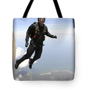 Member Of The U.s. Army Golden Knights Tote Bag