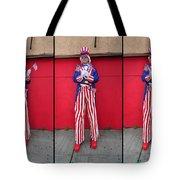 Mermaid Parade Collage 2011 Coney Island Tote Bag