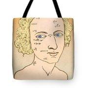 Metoposcopy, 17th Century Tote Bag