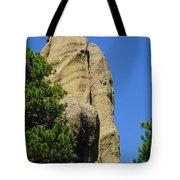 Mica Rock In The Black Hills Tote Bag