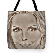 Michelle Pfeiffer In 2010 Tote Bag by J McCombie