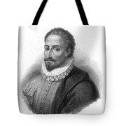 Miguel De Cervantes, Spanish Author Tote Bag