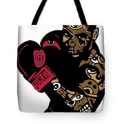 Mike Tyson Full Color Tote Bag