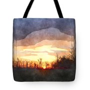 Mild Morning II Tote Bag