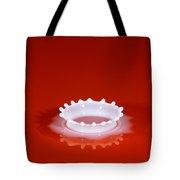 Milk Splash Tote Bag