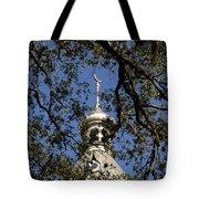 Minaret Through Oak Tote Bag